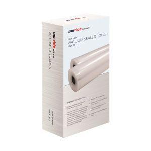 Set 2 role pungi alimentare pentru vidat gofrate SousVide, 280 x 6000 mm, 2 straturi, filtru UV, grosime 90 microni