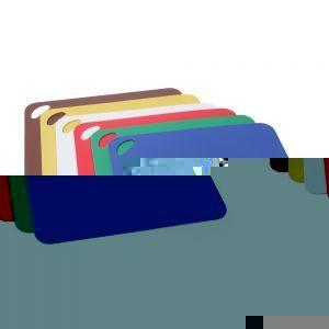 Set 6 tocatoare subtiri flexibile HACCP, 6 culori, 305x455x2 mm, anti-alunecare, polipropilena, Hendi