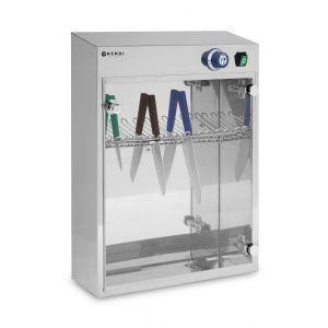 Sterilizator UV pentru 14 cutite, 25 W 25 510x160x(H)610 mm, Hendi