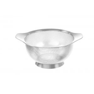 Strecuratoare perforata, inox, ø180x(H)90 mm, Hendi