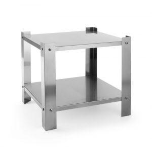 Suport din inox pentru aragaz portabil, 425x425x(H)400 mm, Hendi