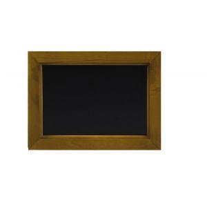 Tabla neagra, rama lemn, 300x400 mm, Hendi