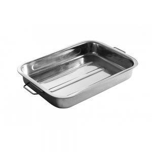 Tava cuptor, otel inoxidabil, 43x31x(H)6 cm, Hendi