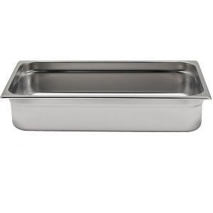 Tava Gastronorm GN 1/1, 530x325x(H)20 mm, 2.6 lt, inox, Hendi Kitchen Line