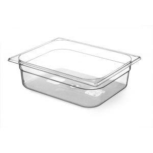 Tava Gastronorm GN 1/2 100 mm 6.5 lt - TRITAN free BPA, Hendi