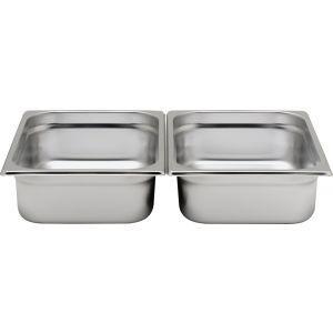 Tava Gastronorm GN 1/2 200 mm 11.2 lt - gama Hendi Profi Line, otel inoxidabil