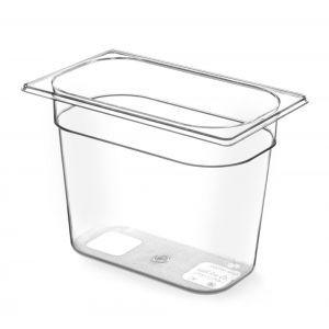 Tava Gastronorm GN 1/4 200 mm 4.5 lt - TRITAN free BPA, Hendi