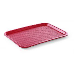Tava servire din polipropilena rosie, 305x415 mm, Hendi