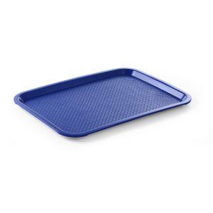 Tava servire, polipropilena, dimesiuni 30.5x41.5 cm, albastra, rezistenta la temp de max 80 gr C, Hendi