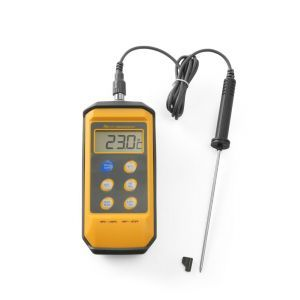 Termometru bucatarie cu sonda detasabila din inox, rezistent la stropire si socuri, interval temp -50-/+300 gr C, 85x195x(H)45 mm, Hendi