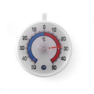Termometru frigider, interval temperatura -50/+50°C, cu carlig agatare, ø72x21 mm, Hendi