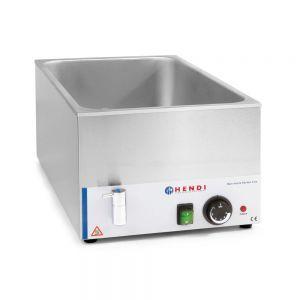 Vas Bain-marie Hendi Kitchen Line cu robinet de scurgere GN 1/1 150 mm, 1200 W