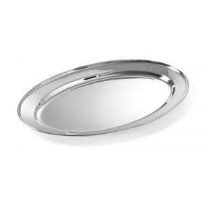 Vas pentru servire, otel inoxidabil, oval 300x220 mm, Hendi